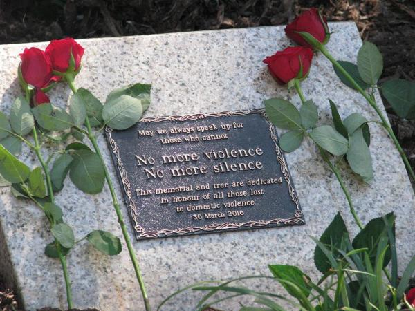 Brisbane domestic violence memorial