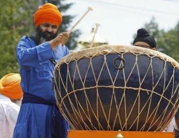 Sikh Nagara Drum
